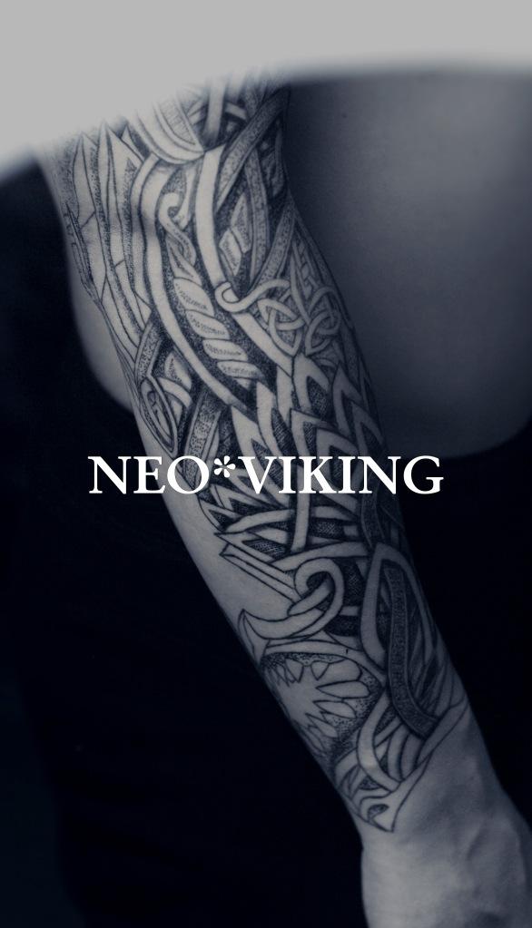 tatouage style viking celtique nordic norse tattoo par nicolasyede en france maine et loire